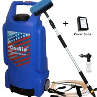 CarAid 9906 Portable Pressure Washer With Rechargeable Battery